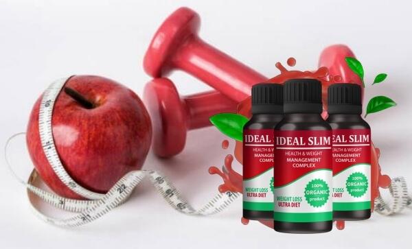 Kapky Ideal Slim: prospěšné vlastnosti